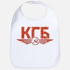 KGB Emblem Red Bib