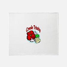 Creole Trinity Throw Blanket