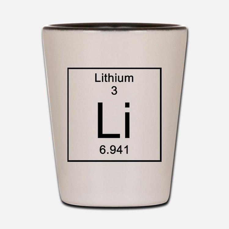 3. Lithium Shot Glass