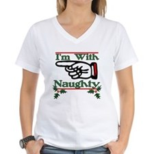 Funny Naughty xmas Shirt