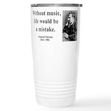 Cute Nietzsche Travel Mug
