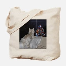 Funny Christmas tree Tote Bag