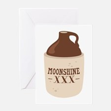 Moonshine XXX Greeting Cards