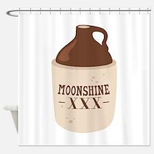 Moonshine XXX Shower Curtain
