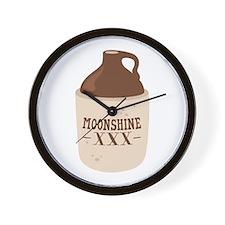 Moonshine XXX Wall Clock