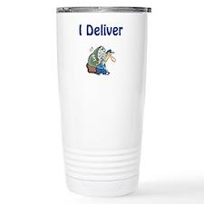 Cute Deliver mail Travel Mug