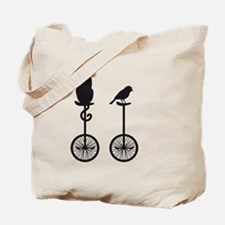 Cute Unicycles Tote Bag
