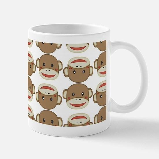 Silly Sock Monkey Mugs