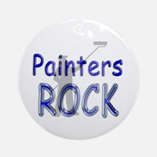 Painters Rock Ornament (Round)