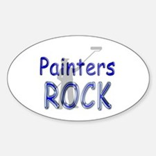 Painters Rock Oval Decal