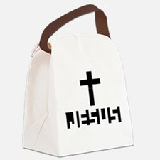JESUS Name revealed Canvas Lunch Bag