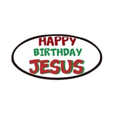 Happy Birthday Jesus Patches