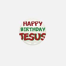 Happy Birthday Jesus Mini Button