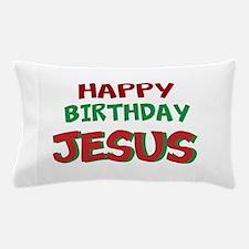 Happy Birthday Jesus Pillow Case