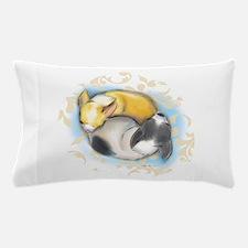 Sleeping Chihuahuas ByCatiaCho Pillow Case