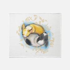 Sleeping Chihuahuas ByCatiaCho Throw Blanket