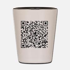 QR Code Shot Glass