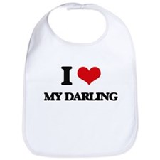 I Love My Darling Bib