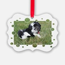 Shih Tzu Puppy Ornament