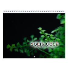 2015 Solid Gold Goldfish Wall Calendar