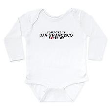 Unique California home Long Sleeve Infant Bodysuit