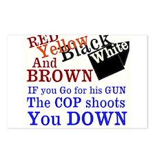 Ferguson Missouri - The Truth Postcards (Package o