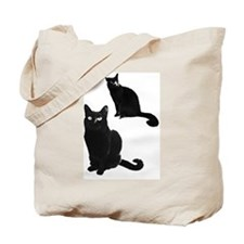 bear zoey outline Tote Bag