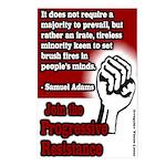 8 Progressive Resistance Postcards
