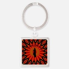 Cherokee Square Keychain