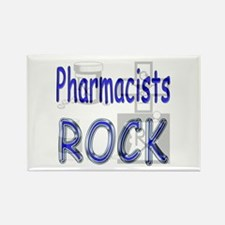 Pharmacists Rock Rectangle Magnet
