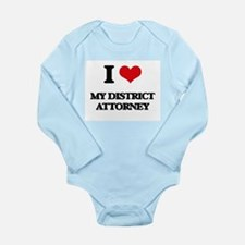 I Love My District Attorney Body Suit