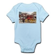 Horses and stagecoach, Colorado, USA Body Suit