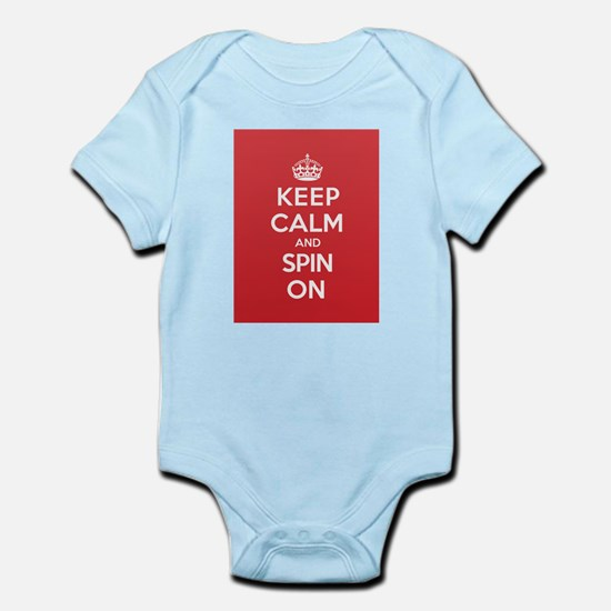 Keep Calm Spin Body Suit