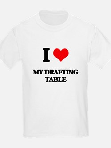 I Love My Drafting Table T-Shirt