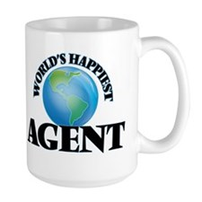 World's Happiest Agent Mugs