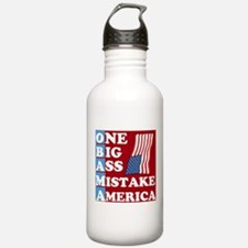 OBAMA - One Big Ass Mistake Water Bottle