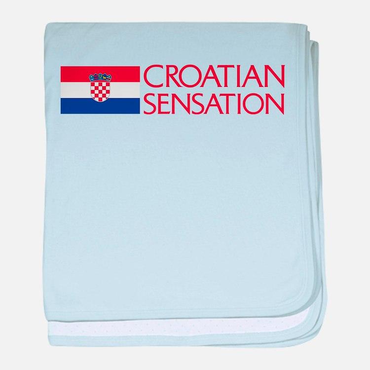 Croatian Sensation baby blanket