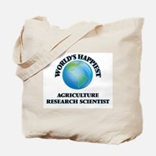 World's Happiest Agriculture Research Sci Tote Bag