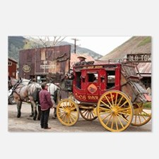 Horses and stagecoach, Co Postcards (Package of 8)