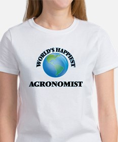 World's Happiest Agronomist T-Shirt