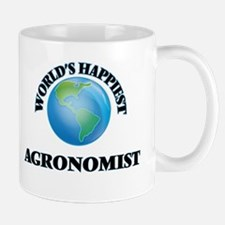 World's Happiest Agronomist Mugs