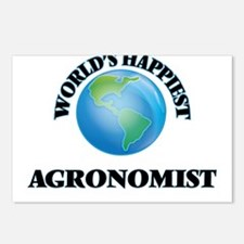 World's Happiest Agronomi Postcards (Package of 8)