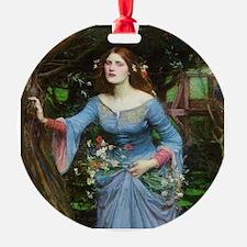 Ophelia by Waterhouse Ornament
