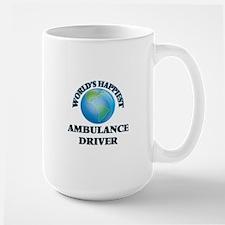 World's Happiest Ambulance Driver Mugs