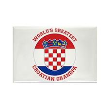 Croatian Grandpa Magnets