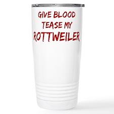 Cute Give blood Travel Mug