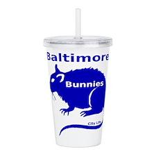 Balt Bunnies Acrylic Double-wall Tumbler