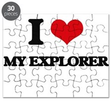 I love My Explorer Puzzle