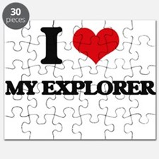 I love My Explorer Puzzle
