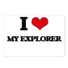I love My Explorer Postcards (Package of 8)